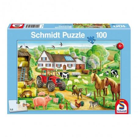 Schmidt Χαρούμενη Φάρμα 100pcs (56003)