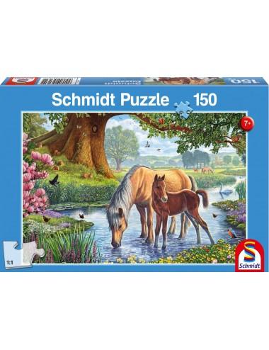 Schmidt Φοράδα με Πουλάρι 150pcs (56161)