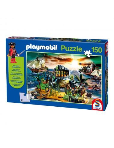 Schmidt Playmobil: Νησί των Πειρατών (με Φιγούρα) 150pcs (56020)