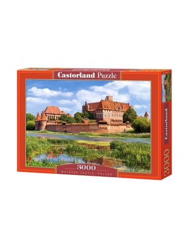 Castorland Malbork Castle-Poland 3000 ΚΟΜΜΑΤΙΑ C-300211-2
