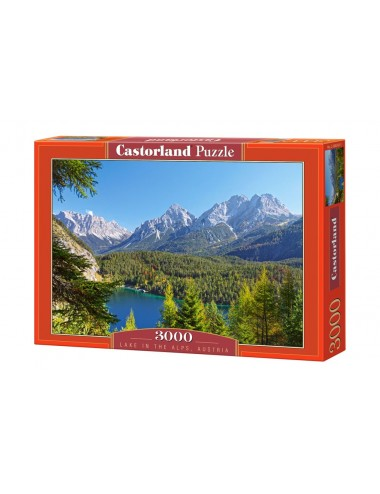 Castorland Lake in the Alps, Austria 3000 ΚΟΜΜΑΤΙΑ C-300242-2