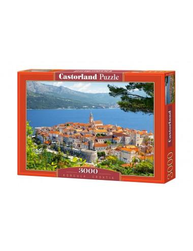 Castorland Korcula-Croatia 3000 ΚΟΜΜΑΤΙΑ C-300266-2