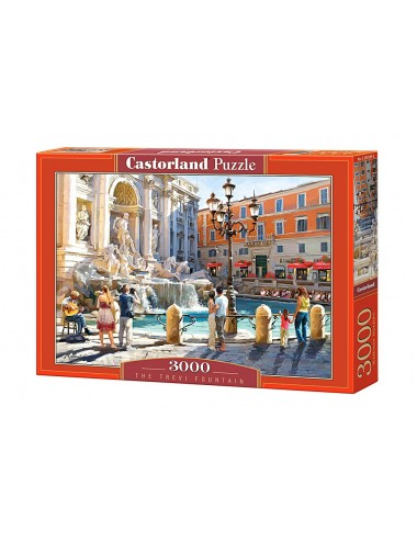 Castorland The Trevi Fountain 3000 ΚΟΜΜΑΤΙΑ C-300389-2