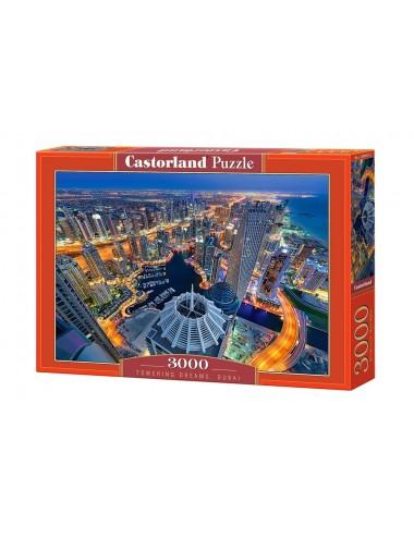 Castorland Towering Dreams-Dubai 3000 ΚΟΜΜΑΤΙΑ C-300457-2