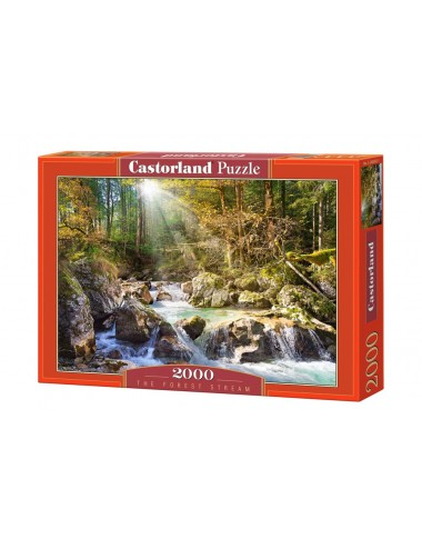 Castorland The forest stream 2000 ΚΟΜΜΑΤΙΑ C-200382-2