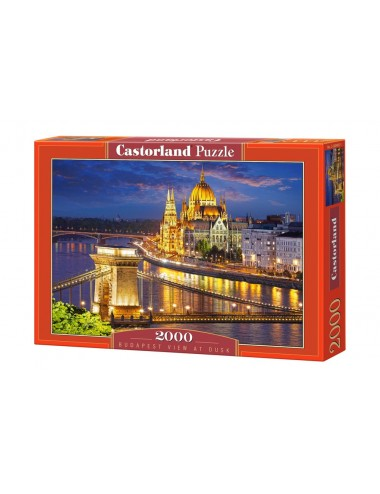 Castorland Budapest view at dusk 2000 ΚΟΜΜΑΤΙΑ C-200405-2