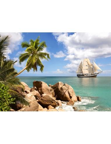 Castorland Sailing in Paradise 2000 ΚΟΜΜΑΤΙΑ C-150526-2