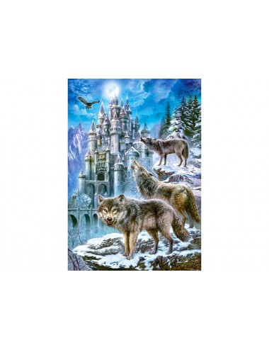 Castorland Wolves and Castle 1500 ΚΟΜΜΑΤΙΑ C-151141-2