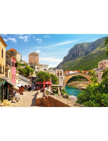Castorland The Old Town of Mostar1500 ΚΟΜΜΑΤΙΑ C-151387-2