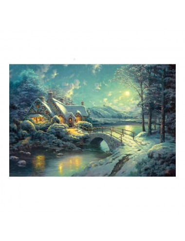 Schmidt Thomas Kinkade Winterliches Mondlicht 500pcs (58453)