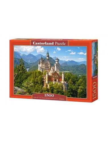 Castorland Neuschwanstein Castle, Germany 1500 ΚΟΜΜΑΤΙΑ C-151424-2