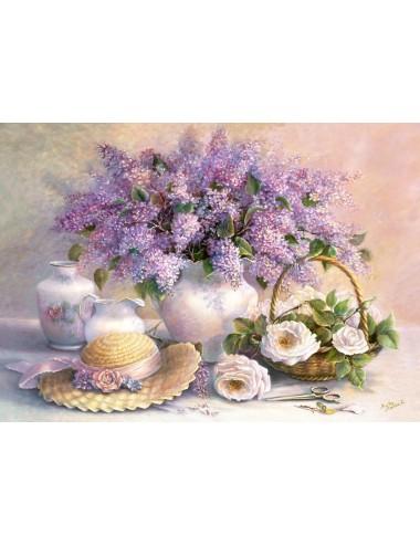 Castorland Flower Day, Trisha Hardwick 1000 ΚΟΜΜΑΤΙΑ C-102006-2