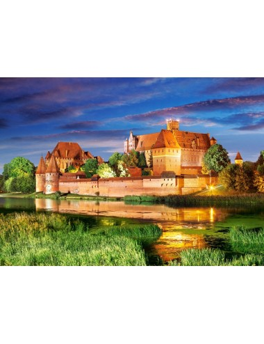 Castorland Malbork Castle, Poland 1000 ΚΟΜΜΑΤΙΑ C-103010-2