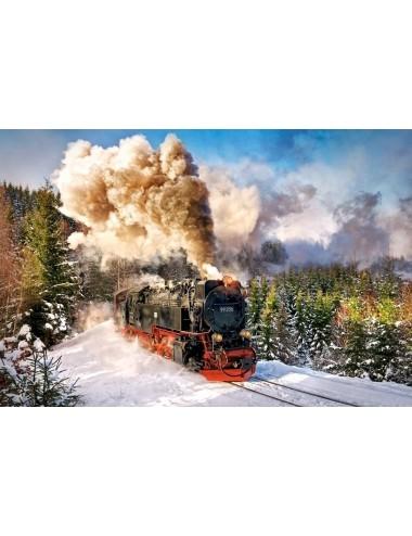 Castorland Steam Train 1000 ΚΟΜΜΑΤΙΑ C-103409-2