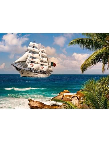 Περισσότερα σχετικά με Castorland Sailing in the Tropics 1000 ΚΟΜΜΑΤΙΑ C-103430-2