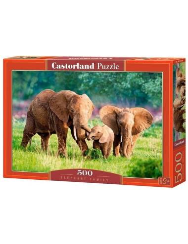 Castorland Elephant Family 500 ΚΟΜΜΑΤΙΑ B-52196