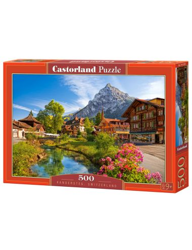 Castorland Kandersteg, Switzerland 500 ΚΟΜΜΑΤΙΑ B-52363
