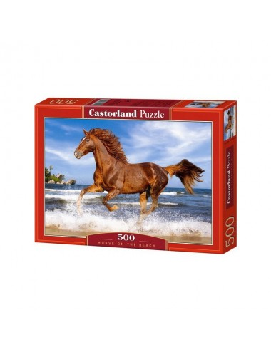 Castorland Horse on the Beach 500 ΚΟΜΜΑΤΙΑ B-51175-2
