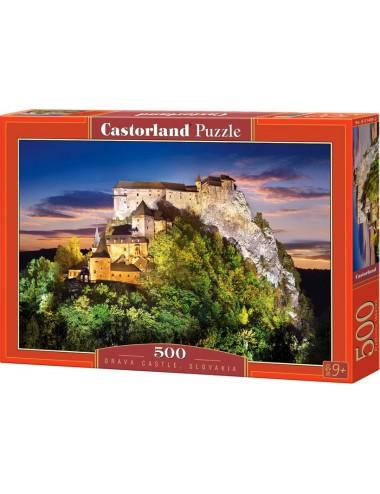 Castorland Orava Castle, Slovakia 500 ΚΟΜΜΑΤΙΑ B-51489-2