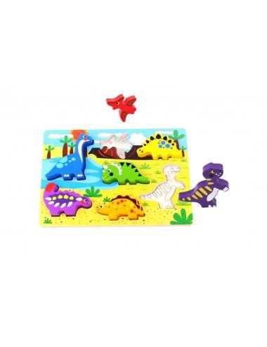 Tooky Toys Δεινόσαυροι 7pcs (TKC392)