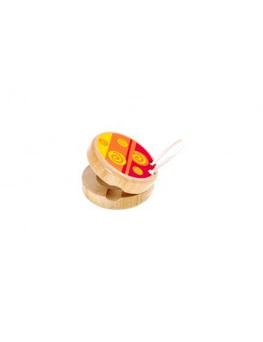 Tooky Toys Ξύλινη Κλακέτα- Μουσικά  Όργανα