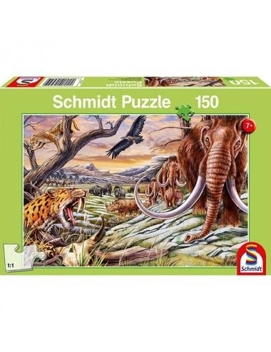 Schmidt Τα ζώα της εποχής των παγετών 150pcs (56251)