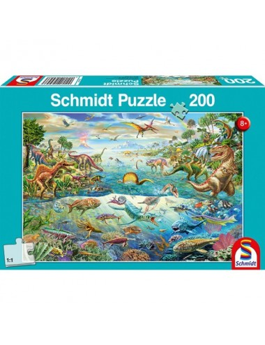 Schmidt Ανακαλύψτε τους δεινοσαύρους 200pcs (56253)