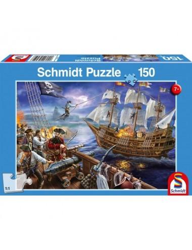 Schmidt Πειρατική περιπέτεια 150pcs (56252)