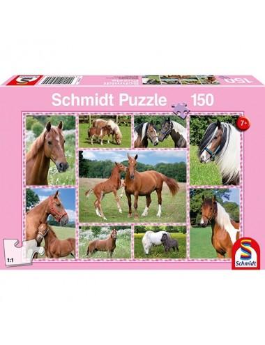 Schmidt  Πανέμορφα Άλογα 150pcs (56269)