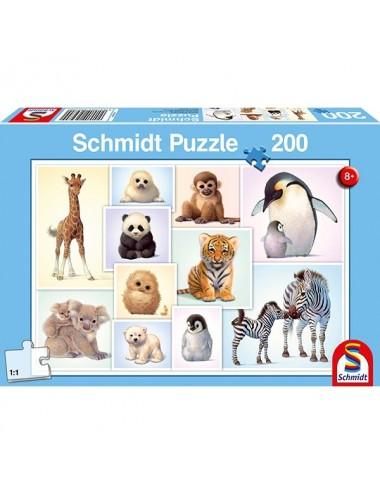 Schmidt Μωρά Ζώα 200pcs (56270)
