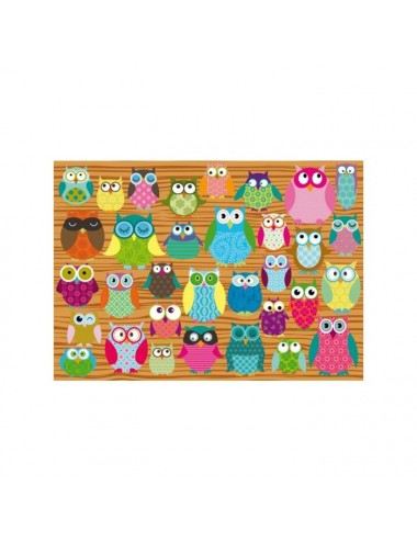 Schmidt Owl Collage 500pcs (58196)
