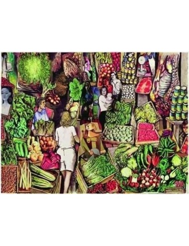 Guttuso: Study for the Market 1500pcs (26067) Ricordi