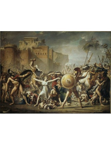 The Sabines Frozen The War Between Romans And Sabins - Jacques Louis David 1500pcs (2901N26010) Ricordi