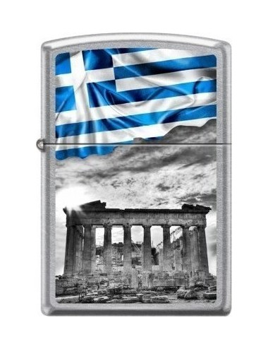 Zippo Greek Flag Acropolis 207-008259