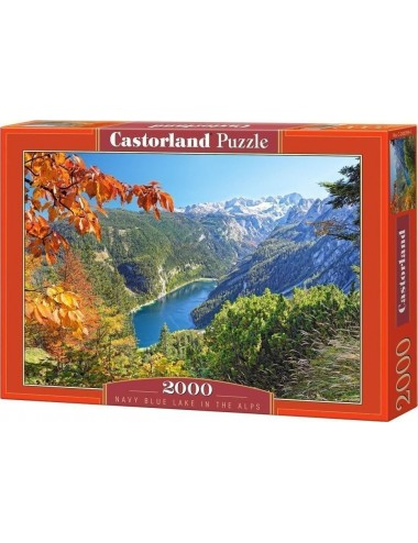 Castorland Navy Blue Lake In The Alps 2000 ΚΟΜΜΑΤΙΑ 200399