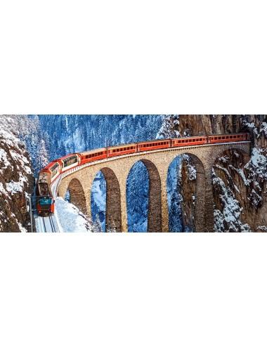 Castorland Landwasser Viaduct, Swiss Alps B-060016