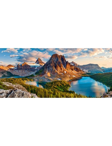 Castorland Assiniboine Sunset, Banff National Park, Canada B-060023