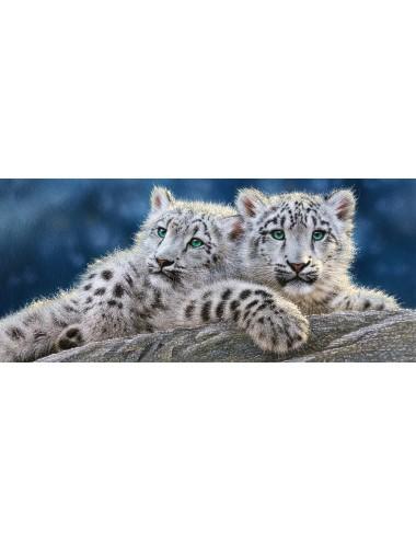 Castorland Snow Leopard Cubs 600 KOMMATIA B-060115