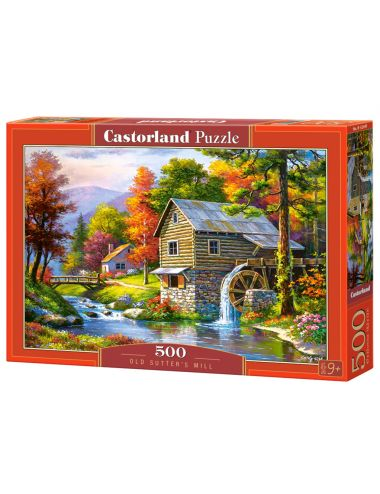 Castorland Old Sutter's Mill 500 ΚΟΜΜΑΤΙΑ  B-52691