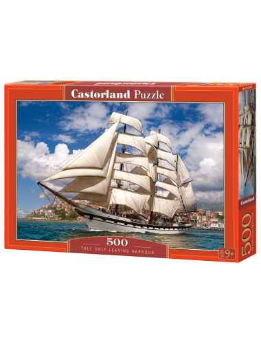 Castorland Tall Ship Leaving Harbour 500 ΚΟΜΜΑΤΙΑ  B-52851