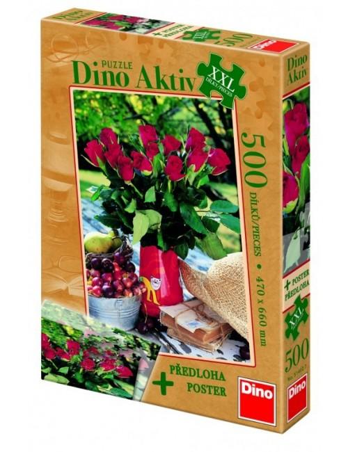 Dino παζλ Tριαντάφυλλα XXL 500 κομμάτια 51402
