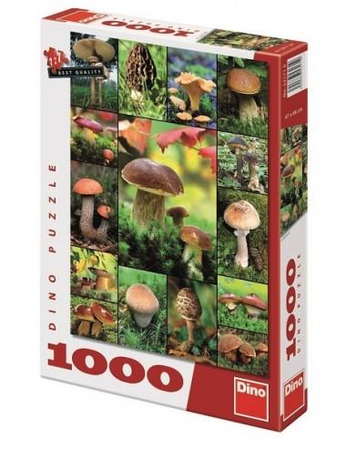 Dino παζλ Μανιτάρια 1000 κομμάτια 53171