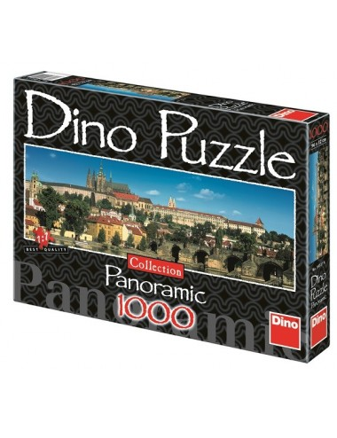 Dino παζλ Κάστρο της Πράγας 1000 κομμάτια 54501
