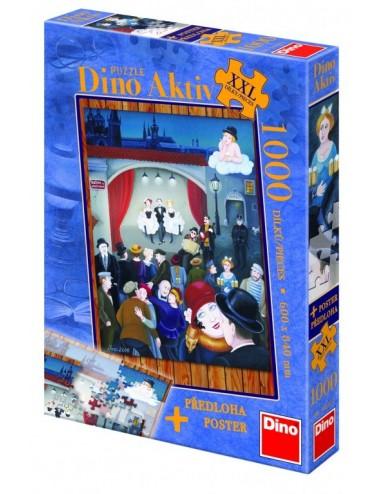 Dino παζλ Χορός XXL 1000 κομμάτια 54620