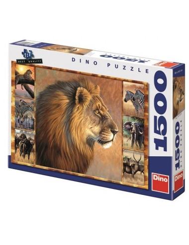 Dino παζλ Κολάζ Αφρικής 1500 κομμάτια 55139