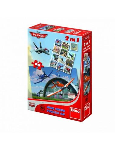 Dino παζλ Planes 2in 1 66 κομμάτια