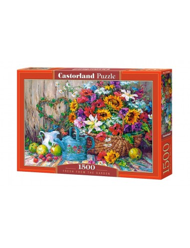 Castorland  Fresh From The Garden 1500 ΚΟΜΜΑΤΙΑ   C-151684