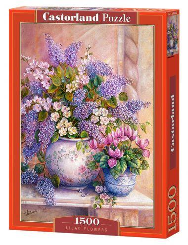 Castorland  Lilac Flowers 1500 ΚΟΜΜΑΤΙΑ  C-151653