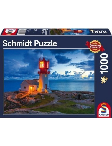 Schmidt Twilight Lighthouse 1000pcs (58292)
