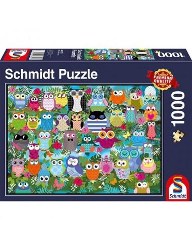 Schmidt Κουκουβάγιες 1000pcs (58332)